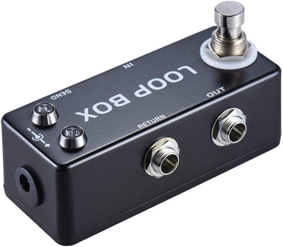 XuBa Mo-sky Loop Box - Pedal de efectos para guitarra (True Bypass)