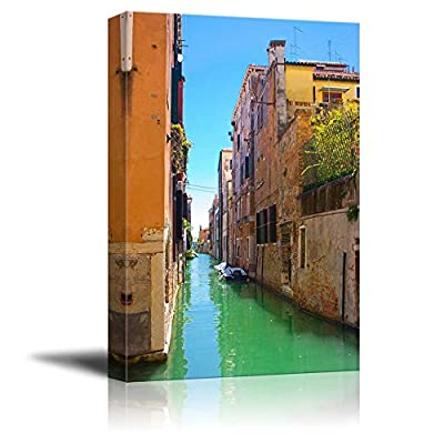 Made For You, Wonderful Style, Beautiful Scenery Alley in Venice Italy Wall Decor
