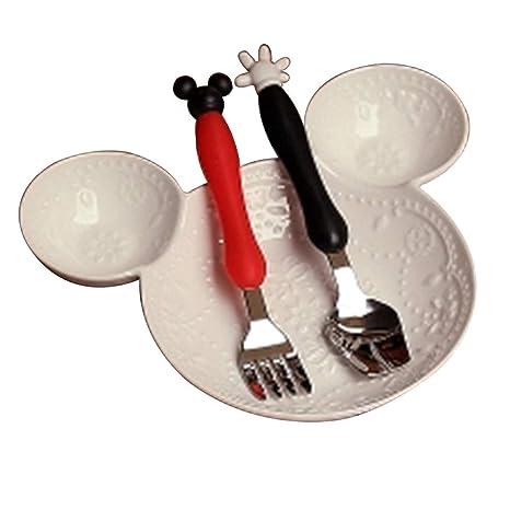 Charola de dibujos animados para niños, bandeja de almuerzo ...