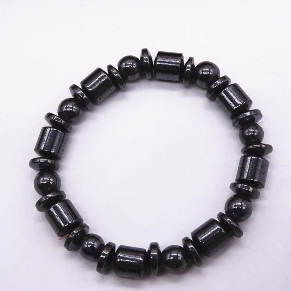 最新情報 Weiduoli三真珠黒鉱石8ミリメートル磁気ビーズブレスレット男性と女性の贈り物   B07LDL9TG1, TRENTUNO31:7a4ff07a --- a0267596.xsph.ru