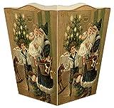 WB8543 - Santa with Children Wastepaper Basket
