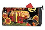 MailWraps Halloween Camper Mailbox Cover #01231