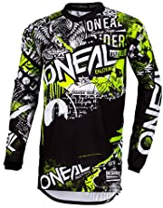 O'NEAL   Koszulka z długim rękawem   dzieci   MTB DH FR Downhill Freeride   oddychający materiał, wyściełana ochrona łokci, element Youth Jersey Factor