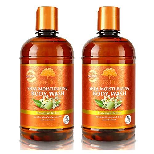 - Tree Hut Shea Moisturizing Body Wash 17 oz (Hawaiian Kukui, 2 pack)