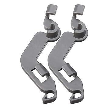 AiCheaX 2pcs Lavavajillas Rack Tine Pivot Clip Piezas de repuesto ...