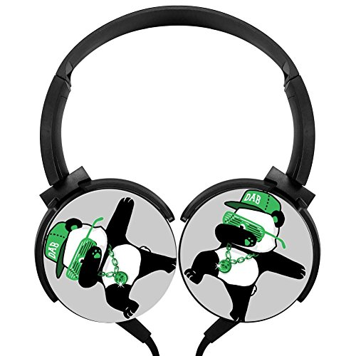 Price comparison product image Dab Panda Over-ear Noise Cancelling 3D Printed Lightweight Headphone
