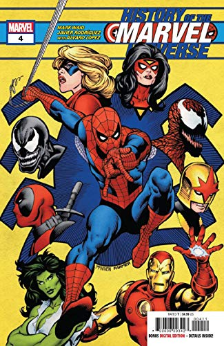 History Of Marvel Universe #4 (of 6) Steve McNiven Cover
