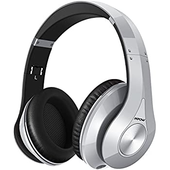 4ced1f5176e Mpow 059 Bluetooth Headphones Over Ear, Hi-Fi Stereo Wireless Headset,  Foldable, Soft Memory-Protein Earmuffs, w/Built-in Mic and Wired Mode for  PC/Cell ...