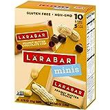 Larabar Minis Gluten Free Bars, Peanut Butter Chocolate Chip/Peanut Butter Cookie, .78 oz Bars (10 Count)