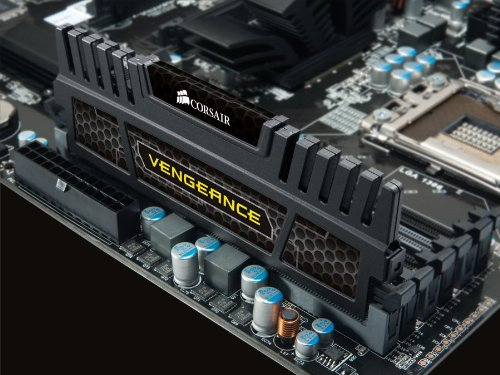 Corsair Vengeance 8GB (1x8GB) DDR3 1600 MHz (PC3 12800) Desktop Memory 1.5V by Corsair