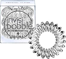 Invisibobble Goma Color Crystal Clear - 3 Unidades
