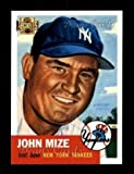 2001 Topps Archives # 104 53 Topps Johnny Mize (Baseball Card) Dean's Cards 8 - NM/MT