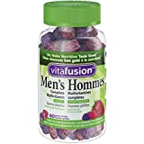 Vitafusion Men's Complete Gummy Multivitamins, Naturally Sourced Fruit Flavours, 60 Count