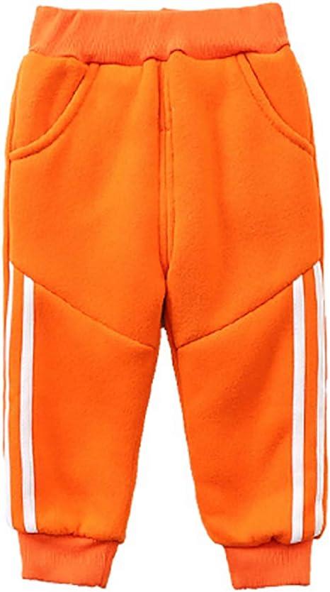 KLUME Pantalones Acolchados de Invierno Pantalones de chándal de algodón para niños Pantalones de algodón Velvet Plus: Amazon.es: Ropa y accesorios
