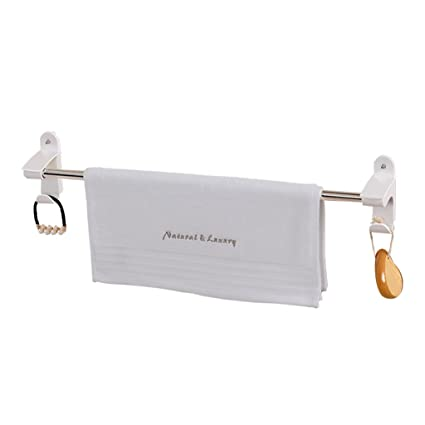 Toallero de acero inoxidable toallero de la rejilla tipo perforado toalla toallero de baño baño de