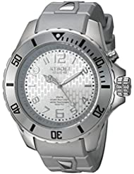 KYBOE! Power Collection Quartz Stainless Steel and Silicone Casual Watch