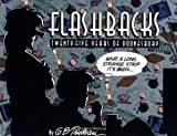 Front cover for the book Flashbacks: Twenty-Five Years of Doonesbury by G. B. Trudeau