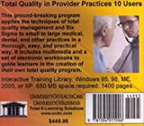 Total Quality in Provider Practices 10 Users, Farb, Daniel and Gordon, Bruce, 1594911991