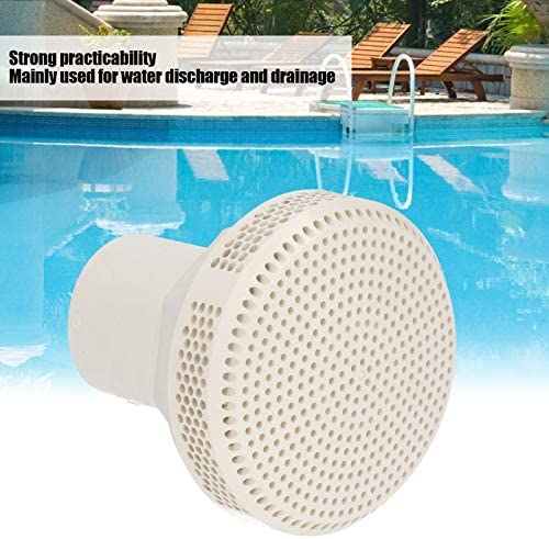 2in Swimming Pool SPA Bathtub PVC Floor Drainage Water Outlet Port Draining Acce