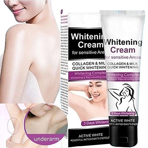 Naizhelun Whitening Cream, Natural Underarm Lightening & Brightening Deodorant Cream, Armpit Whitening, Body Creams, Underarm Repair Whitening Cream Between Legs Knees Private Part (Lightening Cream)