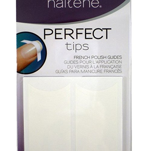 Nail Perfect French (Nailene Perfect Tips French Polish Guides, 3 sheets)