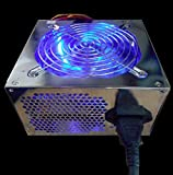 Linkworld 550W 12cm Blue LED Fan ATX 12V V2.0 PCIE Desktop Computer/ Mini Tower PC Power Supply (LPK12-35)
