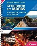 capa de Geografia em Mapas. Europa, Asia