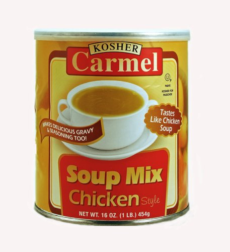 CARMEL Chicken Flavor Soup Mix , 1 lb. Canisters (Pack of 4) ()