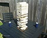 Get Outside Games Tabletop Tower Block Set with Carry Tote