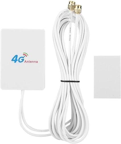 YuandCheng Señal Mejorada Antena 4G LTE, 28dBi Ganancia SMA ...