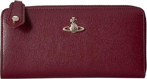 Vivienne Westwood Women's Victoria Zip Wallet Burgundy One Size