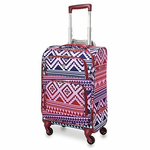 - Large Capacity Maximum Allowance 22x14x9 Airline Approved Delta United Southwest Carry On Spinner Luggage Cabin Bag | Rolling Travel Suitcase Lightweight Soft Shell Trolley | 18.5x14x9in Body Size