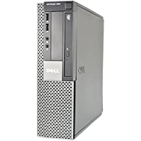 Dell Optiplex 960 SFF Business High Performance Desktop Computer PC (Intel Dual Core CPU 3.0GHz, 4GB Memory, 1TB HDD, DVD, Windows 7 Professional) (Certified Refurb)