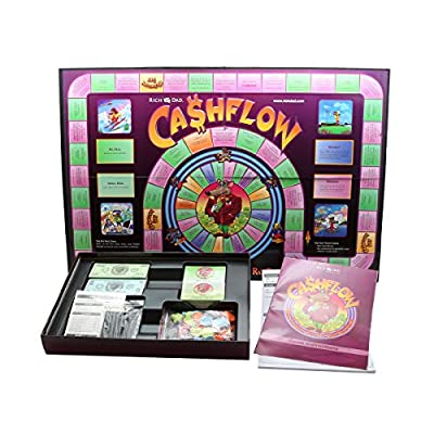 Rich Dad Cashflow 101 and 202 Board Game Bundle: Toys & Games