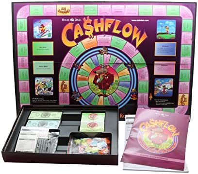 Cashflow 101  Board Game by Robert Kiyosaki New