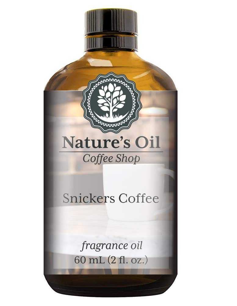 Snickers Coffee Fragrance Oil (60ml) For Diffusers, Soap Making, Candles, Lotion, Home Scents, Linen Spray, Bath Bombs, Slime