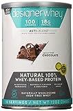 designer whey protein natural - Designer Protein 100% Premium Whey Protein Powder, Gourmet Chocolate, 12-Ounce (Pack of 2)