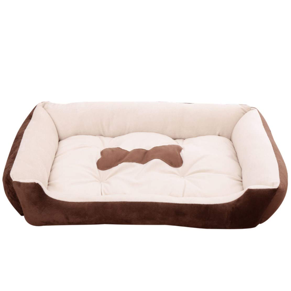 Pet Dog Bed Super Comfort Bolster Dog Bed Waterproof Memory Pet Bed with Durable Washable, Super Soft,S
