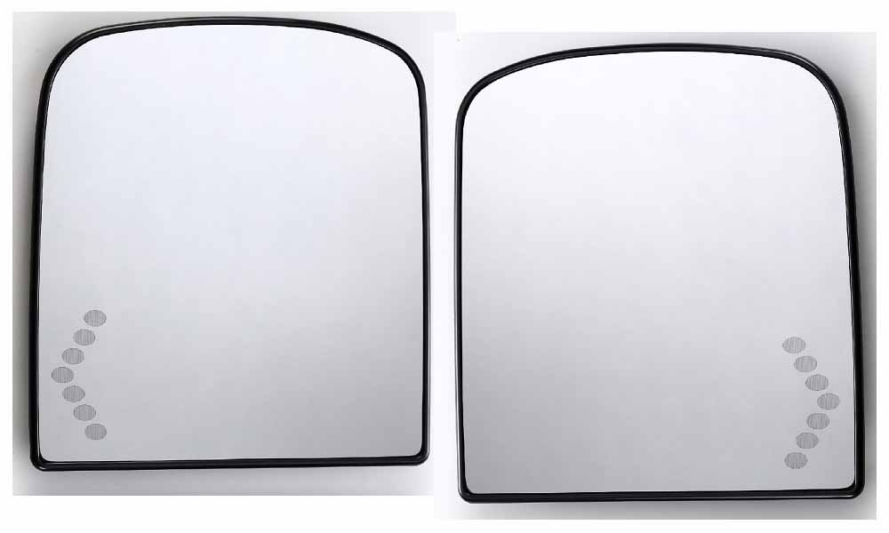 APA Gmc Sierra Yukon Xl Denali 07 08 Power Heat LED Signal Mirror Glass Right Side with Backing Plate