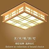 lyxg japanische deckenleuchte led lampen massivholz tatami licht lampen japanische wohnzimmer. Black Bedroom Furniture Sets. Home Design Ideas