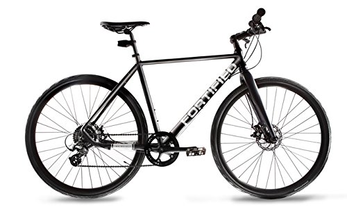 Fortified City Commuter Theft-Resistant Eight Speed Bike (Small - 50cm - 5'2