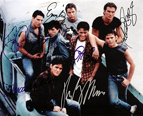 the-outsiders-cast-signed-autographed-8-x-10-reprint-photo-mint-condition