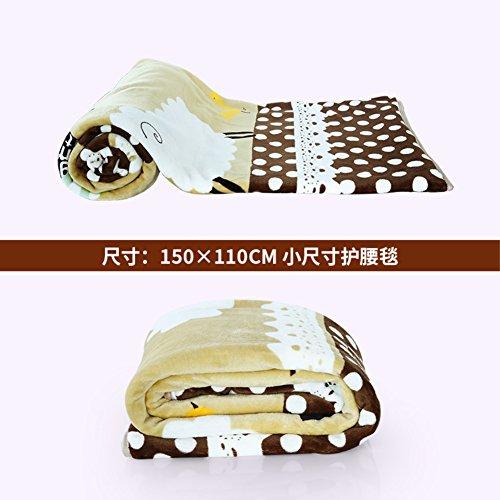 Folding Mattress/Lunch Break With Blankets/Folding Blanket-A 150x110cm(59x43inch) by JKAPWQOILUXHWTX