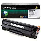 LINKYO Compatible Toner Cartridge Replacement for Canon 128 (Black)