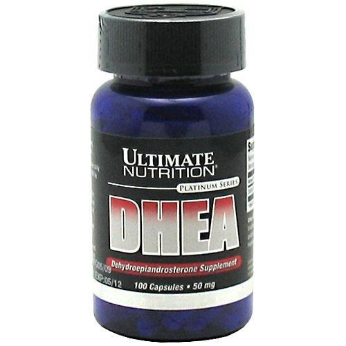 Ultimate Nutrition DHEA déhydroépiandrostérone-capsules, 50 mg, 100 comte Bouteille