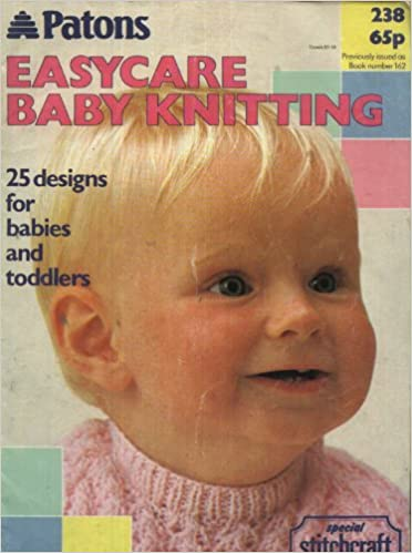 c9064220235f Patons Knitting Pattern Booklet 238   Easycare Baby Knitting - 25 ...