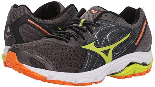 Pictures of Mizuno Men's Wave Inspire 14 Running Shoe Black 9 M US 4