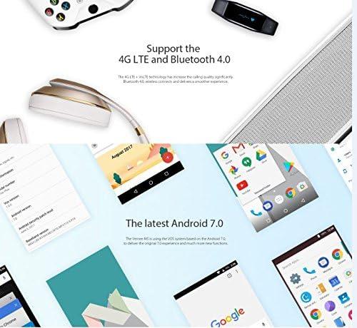 Vernee M5 - 5.2 pulgadas HD IPS Pantalla Android 7.0 4G Smartphone ...