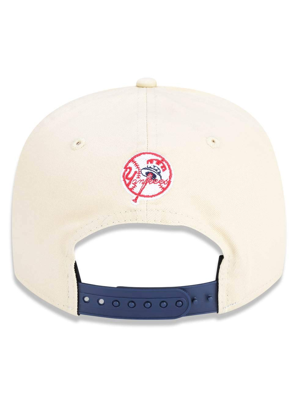 701346ea2511b BONE GOLFER NEW YORK YANKEES MLB ABA CURVA SNAPBACK BRANCO KAKI NEW ERA   Amazon.com.br  Amazon Moda
