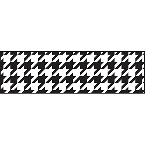 TREND enterprises, Inc. T-85164BN Houndstooth Bolder Borders, 35.75' Per Pack, 6 Packs